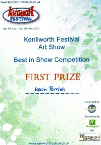 first prize cert.ke.arts.fest