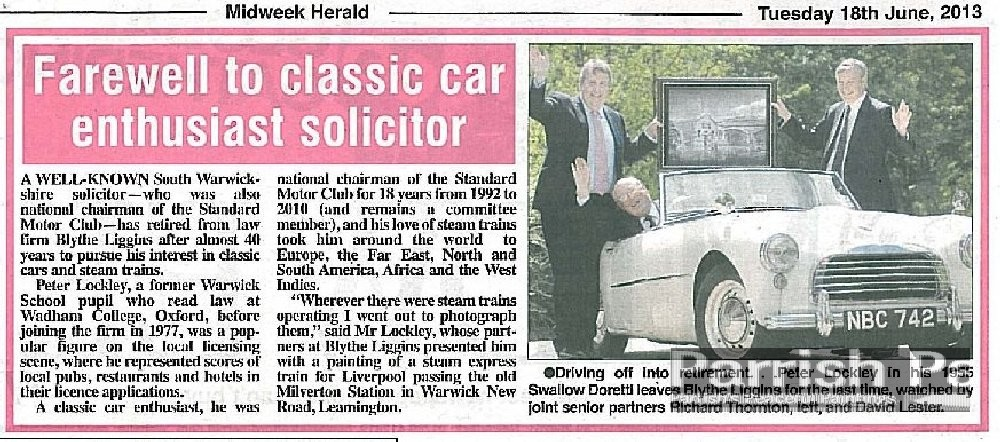 trainontime(farewell to classic car solicitor enthusiast) herald-june 2013 - Copy