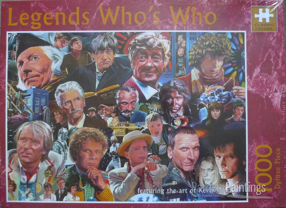 legend who's who jigsaw puzzle