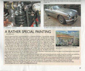 jerry birbeck-a rather special painting article p27 enjoying mg may 2016