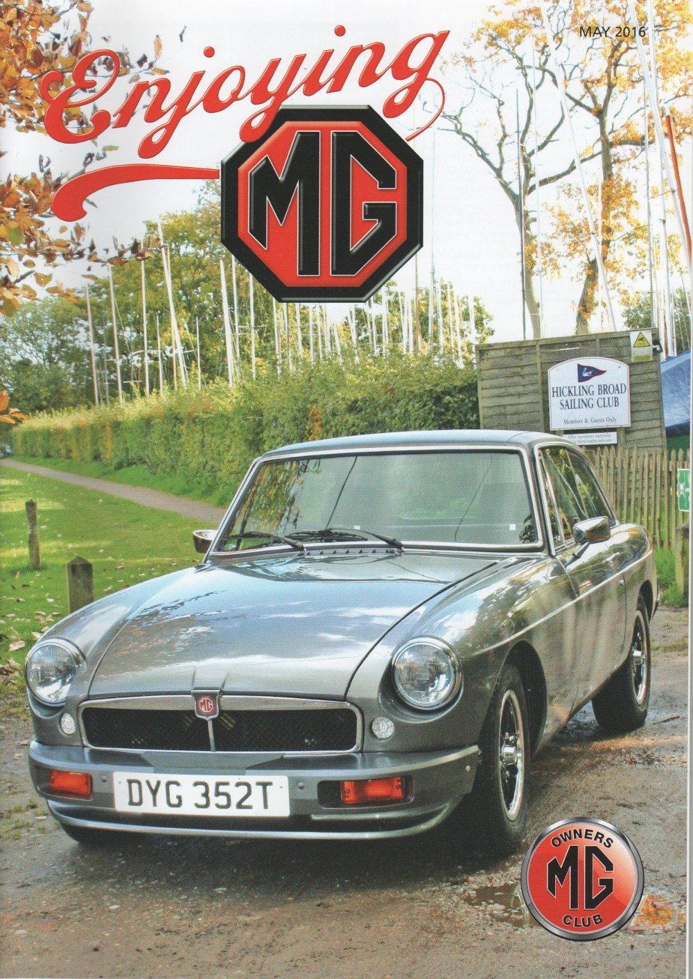 jerry birbeck-enjoying mg-front cover may 2016