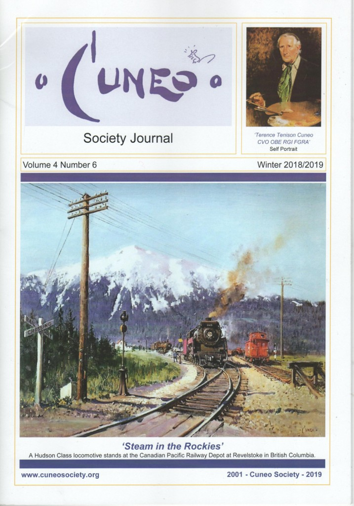 cuneo society journal vol 4 no 6 cover