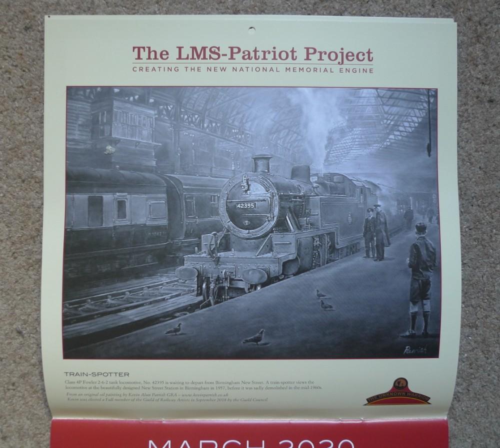 patriot project 2020 calendar march P1050990